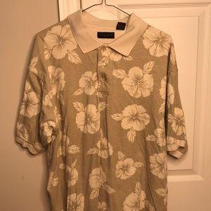 Hawaiian Cotton Golf/Polo Shirt XL